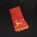 Artistic Accents Embroidered Pheasant Kitchen Towel