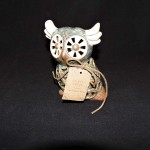 Bamboo Ginger Owl Potpourri Holder