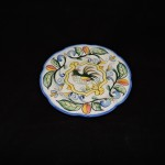 Fitz & Floyd Ricamo Rooster Salad Plate
