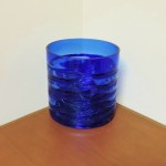 Hand Blown Cobalt Bowl / Vase