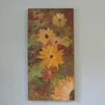 Large Sunflower Painting