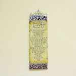 Lords Prayer Wall Hanging