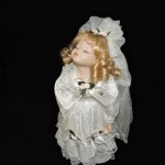 Porcelain Kissing Bride Doll