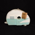 Primitives by Kathy Teardrop Camper Birdhouse
