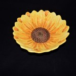 Sketch Sunflower by Maxcera Serving Bowl