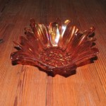 Turkish Amber Flower Bowl