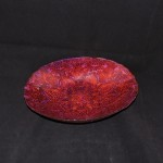 Turkish Delights Red & Purple Oval Bowl