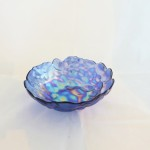 Turkish Iridescent Purple Bowl