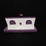 Tuscan Designs Purple Jewelry Travel Case