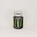 Village Candle Black Bamboo Candle Jar