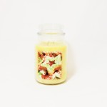 Village Candle Christmas Cookie 26 oz Candle Jar