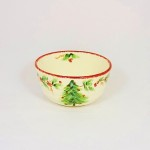 Christmas Tree Garland Soup Bowl by Maxcera
