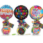 Happy Birthday Candy Jars